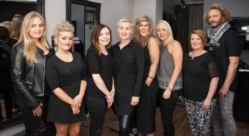 HAIR EXPERTS AT MICHELLE MARSHALL HAIRDRESSERS IN CARDIFF, WALES