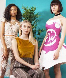 Michelle Marshall Team at Cardiff Fashion Week 2016
