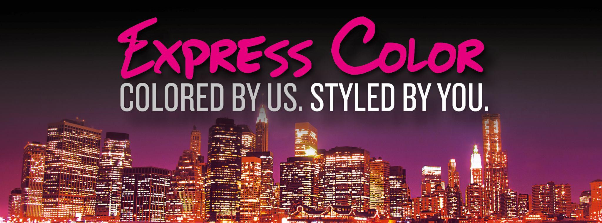 express hair colour, cardiff hairdresseres