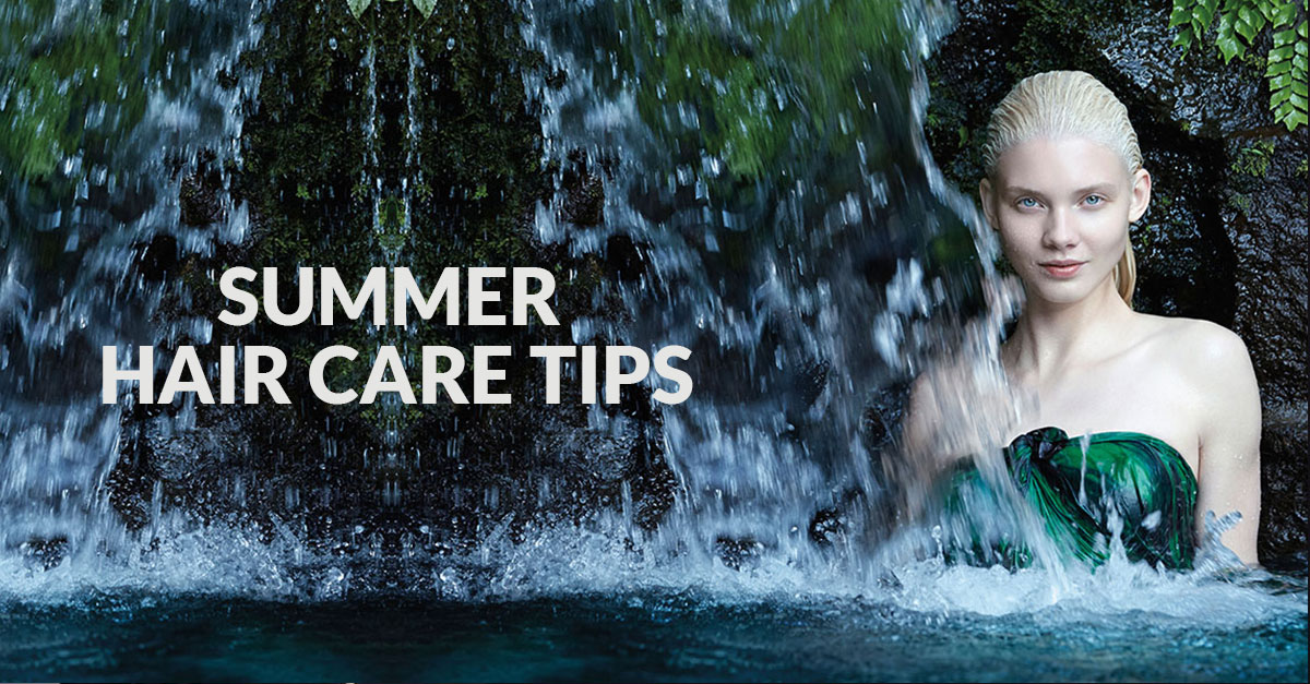 Summer Hair Care Tips from Michelle Marshall Hair Salon in Cardiff