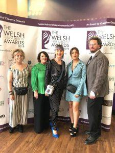 Welsh Hair Beauty Awards 2019 Michelle Marshall Team Photo