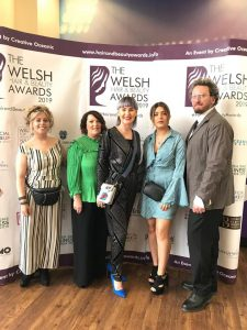 Welsh Hair Beauty Awards 2019 Michelle Marshall Team Photo