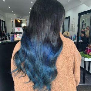 Bright Festival Hair at Cardiff Hair Salon