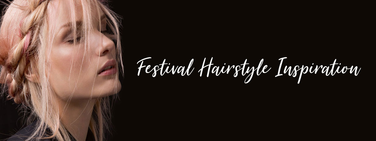 Festival Hairstyle Inspiration from Michelle Marshall top Cardiff Hair Salon