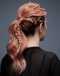 Redken Braided Hair Style