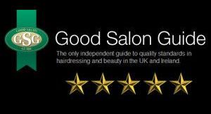 good salon guide five star award