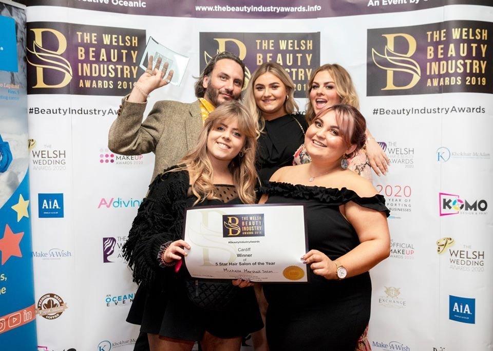 Michelle Marshall Best 5 Star Hair Salon in Wales