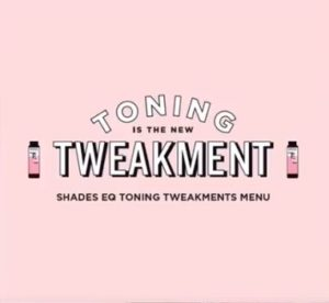 Toning Tweakments Menu image