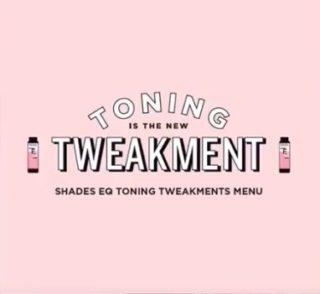 Introducing the Redken Toning Tweakments Menu