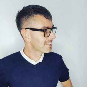 mens fade cropped hair Cardiff barbers