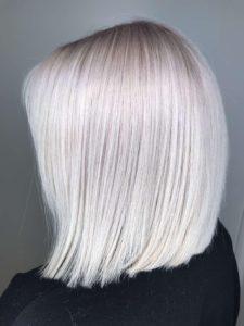 platinum blonde silver blonde