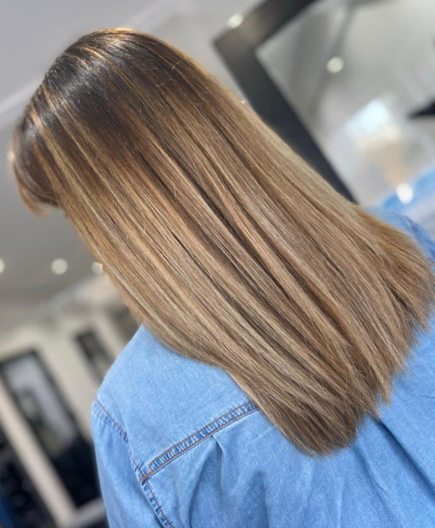 Get Rid of Frizz Hair Smoothing Cardiff at Michelle Marshall Salons