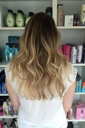 Ombre & balayage at Michelle Marshall Hair Salon, Cardiff