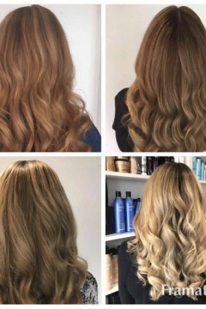 hair colour change, michelle marshall hairdressers, cardiff, wales