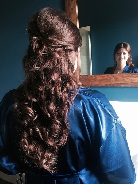special occasion hairstyles at michelle marshall salon in cardiff
