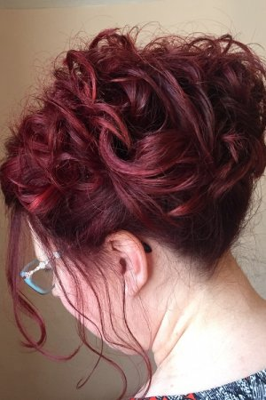 special hairstyles, michelle marshall hairdressers, cardiff