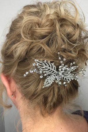 PROM PREPARATIONS AT MICHELLE MARSHALL HAIR SALON IN CARDIFF