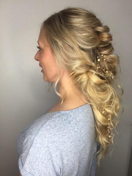 Wedding Hair at Michelle Marshall Hair Salon in Cardiff